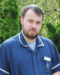James Reeves, nurse at Haven Veterinary Surgeons